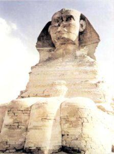 figura 115 - La Grande Sfinge di Giza. (Egitto)