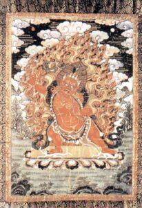 figura 126 - Il dio Hayagriva. Nepal, Sec. XVII^. Museo di Leyden. (Olanda)