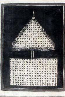 Figura 13 - Ombrello Sacro. Secolol XIX^. Rajasthan, (India)