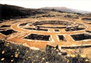 figura 25 - Oroscopo di pietra. Fortezza Inca di Saxahuaman, Cusco (Perù)