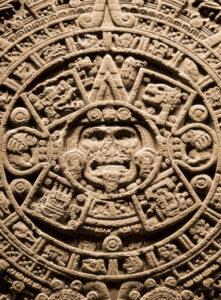 figura 64 - La Pietra del Sole. Calendario azteco