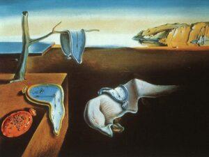 La persistencia de la memoria - Dali