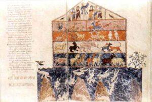 figura 159 - L'Arca di Noè. Museo della Cattedrale di Gerona (Spagna)