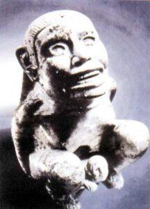 figura 164 - La dea Tlazolteotl. Collezione privata Washington. (U.S.A.)
