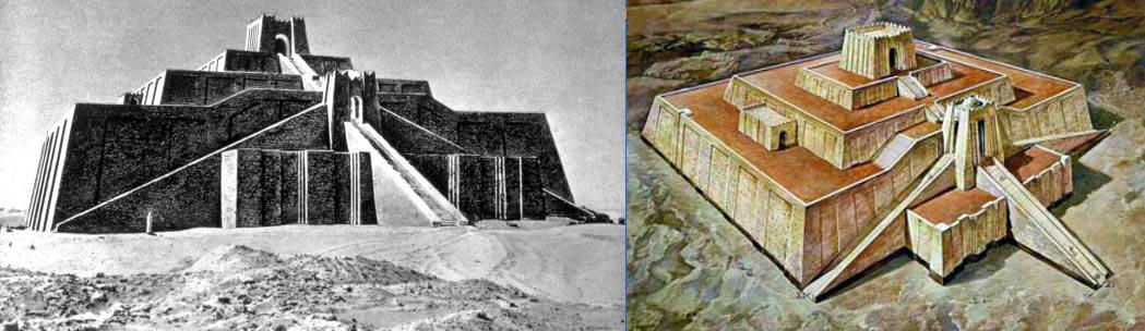 Zigurat di Nannar a Ur, Mesopotamia.