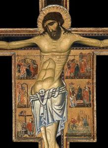 Crocifisso con storie della passione. Capo Di Malcovaldo, Museo di S. Giminiano (Italia)