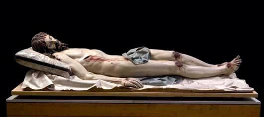 Attributi taciti: Cristo morto. G. Fernandez, Museo Nazionale di Scultura. Valladolid (Spagna)