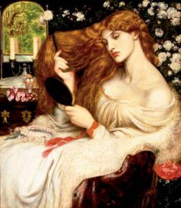 Dante Gabriel Rossetti - Lady Lilith - Museos y Pinturas Juan Carlos Boveri